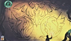 FLG8 - The Wall of Ancestors Playmat
