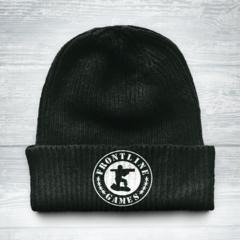 Frontline Knit Cap - Black
