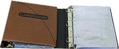 Card Guard Binder - Brown - 540