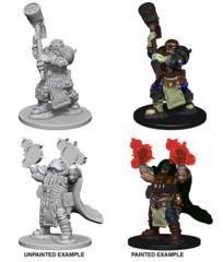 D&D Unpainted Minis - Wave 2 - Dwarf Cleric