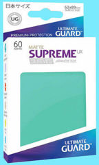 Ultimate Guard - Standard - 80ct - Supreme UX Sleeves - Matte - Turquoise