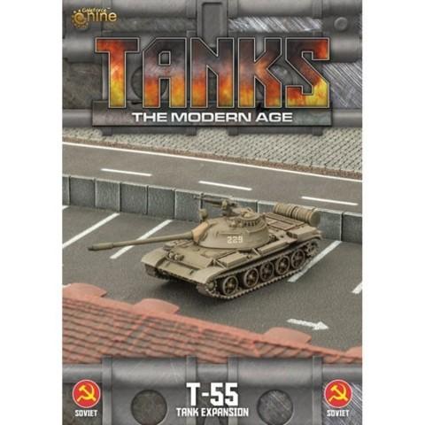 Tanks - The Modern Age - T-55 - Tank Expansion - Soviet