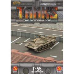Tanks - The Modern Age - T-55 - Tank Expansion - Soviet