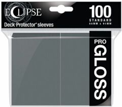 Ultra Pro - Pro Gloss Eclipse: Deck Protector 100 Count Pack - Grey