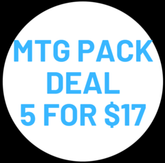 Pack Deal 5 for $17