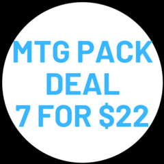 Pack Deal 7 for $22