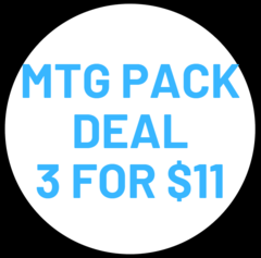 Pack Deal 3 for $11
