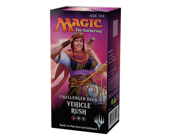 Vehicle Rush - Challenger Deck 2018