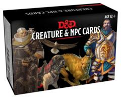 Dungeons & Dragons Spellbook Cards: Creature & NPC Cards