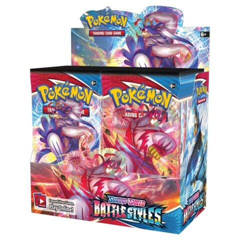 3500 Bulk C/UC for Battle Styles Booster Box (Wave 2 Preorder, Ships by May 31st)