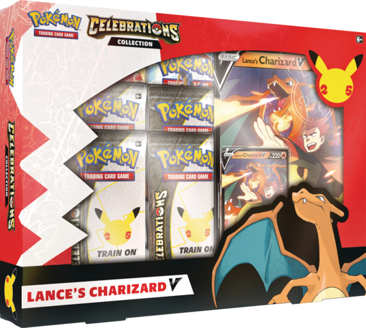 Celebrations Collection - Lances Charizard V (Ships by October 8th)