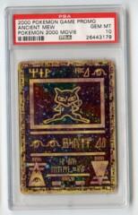 Ancient Mew - PSA 10 - Pokemon 2000 Movie Promo