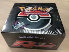 Team Rocket 1st Edition Sealed Booster Box #1
