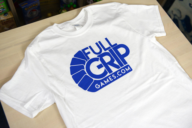 Full Grip Games T Shirt - White