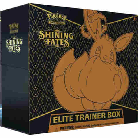 3000 Bulk C/UC for Shining Fates Elite Trainer Box (Ships by February 19th)
