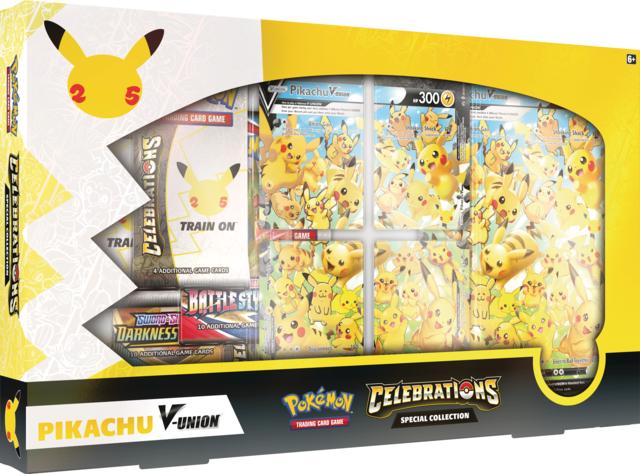 Celebrations Collection - Pikachu V Union