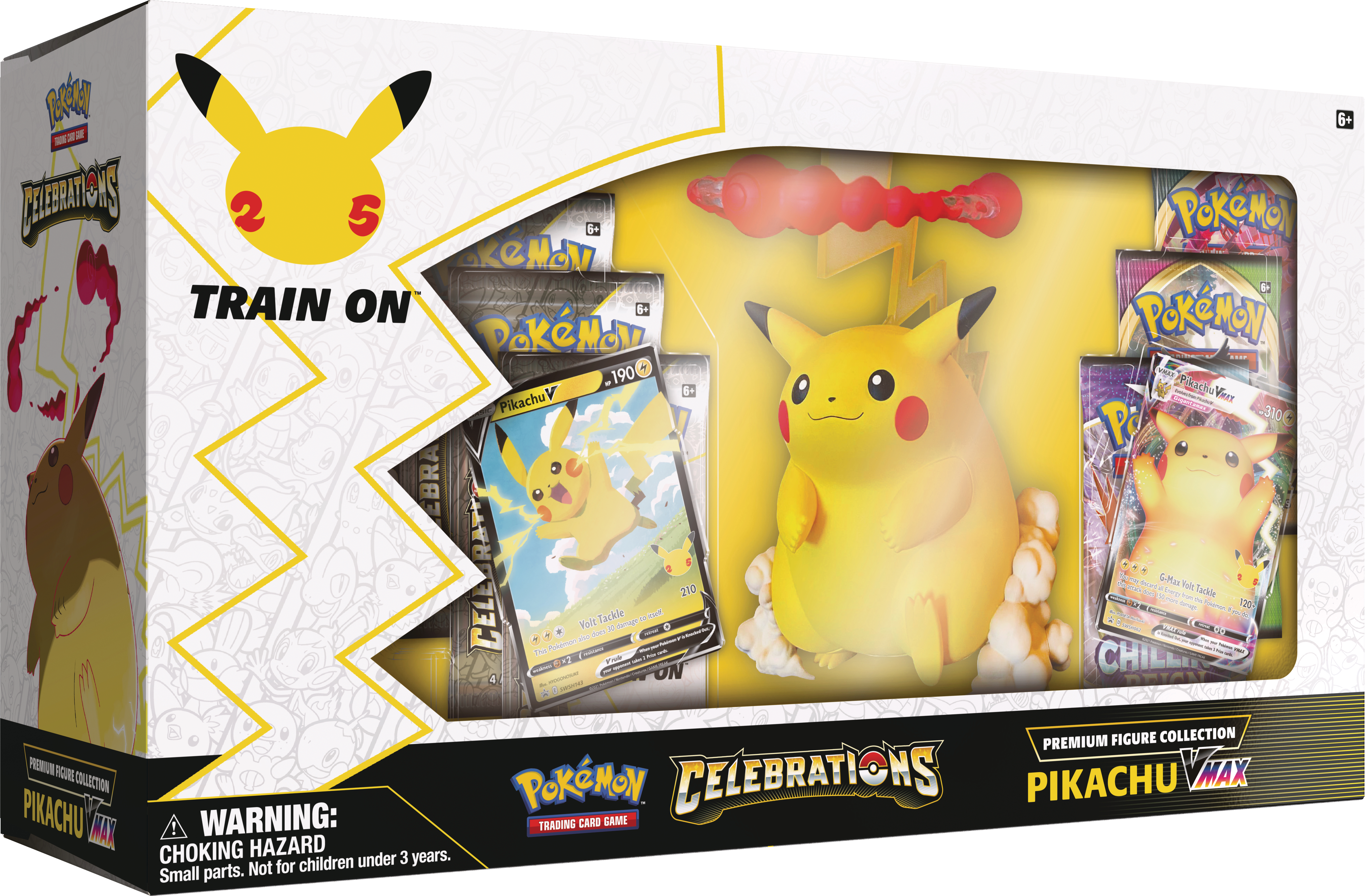 Celebrations Premium Pikachu VMAX Figure Collection (Ships by October 22nd)