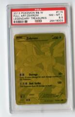 Zekrom - PSA 8.5 - Legendary Treasures Gold Secret Rare 115/113