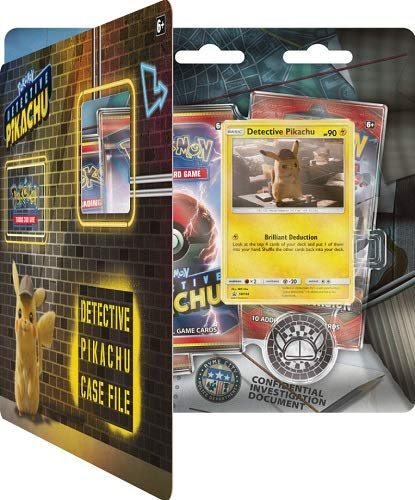 Detective Pikachu Case File Blister Set