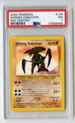 Shining Kabutops - PSA 7 - Neo Destiny 108/105