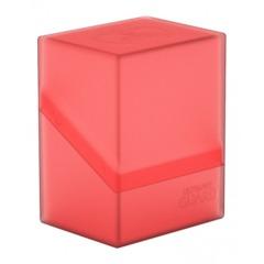 Ultimate Guard Boulder Deck Case: Ruby (80+)