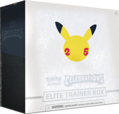 Celebrations Elite Trainer Box (Ships by October 8th)