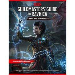 Dungeons & Dragons - Guildmasters' Guide to Ravnica - Maps & Miscellany