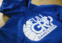 Full Grip Games Hoodie - Blue