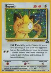 Meowth - 10 - Game Boy Wizards Black Star Promo
