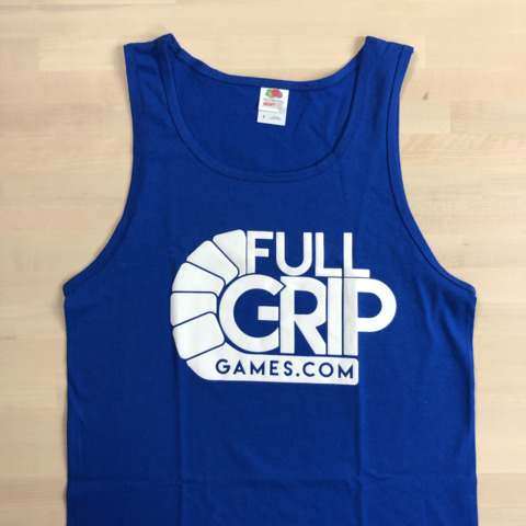 Full Grip Games Tank Top - Blue