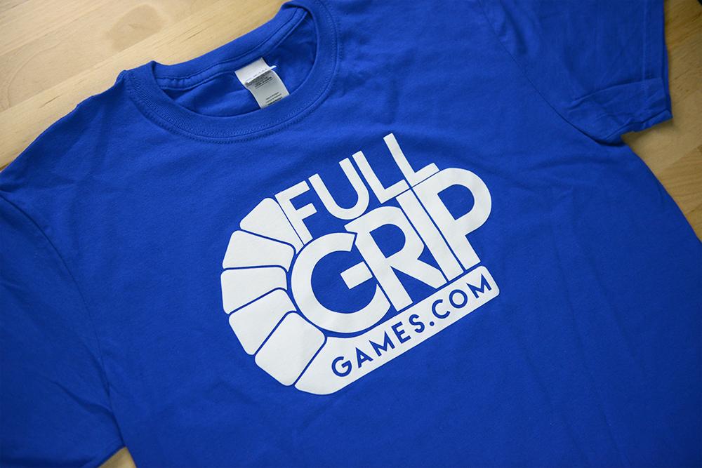 Full Grip Games T-Shirt - Blue