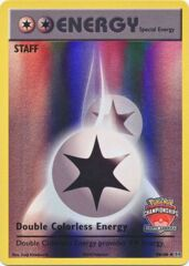 Double Colorless Energy - 90/108 - Staff North America International Championship Promo