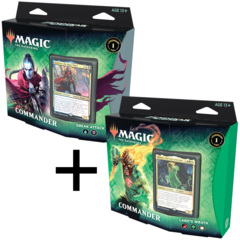 Zendikar Rising - Commander Deck (Set of 2) - Land's Wrath & Sneak Attack