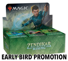 Zendikar Rising Draft Booster Box - Early Bird Promotion
