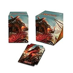 Ultra Pro Magic The Gathering: Rivals Of Ixalan - Pro 100+ Angrath the Flame Chained Deck Box (UP86658)