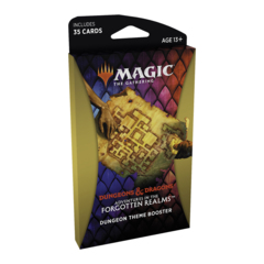 Adventures in the Forgotten Realms Theme Boosters Pack - Dungeon