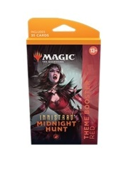 Innistrad: Midnight Hunt Theme Booster Pack - Red