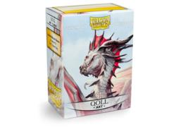 Dragon Shield Sleeves: Art Classic Qoll (Box Of 100)