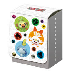 Pokemon Center 2019 Sword and Shield – Grookey, Scorbunny & Sobble – Deck Case