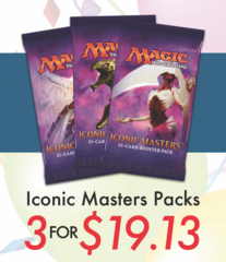 Iconic Masters - Booster Pack 3 for 19.13