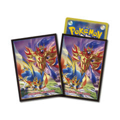 Pokemon Center 2019 Sword and Shield – Zacian & Zamazenta – Card Sleeves 64ct