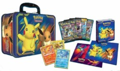 Pikachu & Eevee Collector Chest Tin Fall 2018