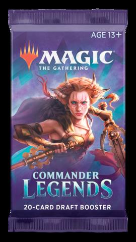 Commander Legends Booster Pack