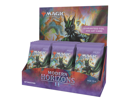 Modern Horizons 2 Set Booster Box EARLY SALE PROMOTION SHIPS JUNE 11