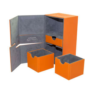 Ultimate Guard Flip Deck Case TWIN FLIPnTRAY Xenoskin 200+ - Orange