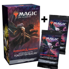 Adventures in the Forgotten Realms Prerelease Pack + 2 Prize Boosters