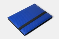 Dex Protection - 9 Pocket Binder Blue Limited Edition Black Suede