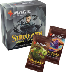 Strixhaven Silverquill Prerelease Pack + 2 Strixhaven Prize Boosters