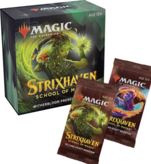 Strixhaven Witherbloom Prerelease Pack + 2 Strixhaven Prize Boosters