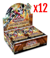 Lightning Overdrive 1st Edition Booster Case